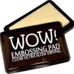 WV02 Clear Ultra Slow Drying Ink Pad