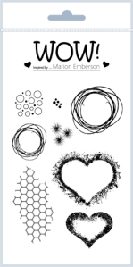 Hearts & Twine Stamp